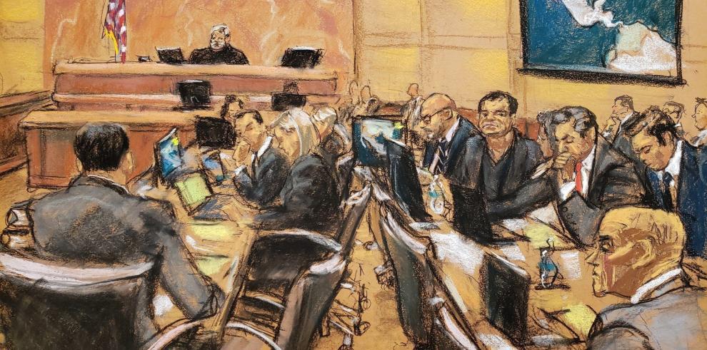 Defensa del Chapo cuestiona honestidad de testigo y su memoria del caso