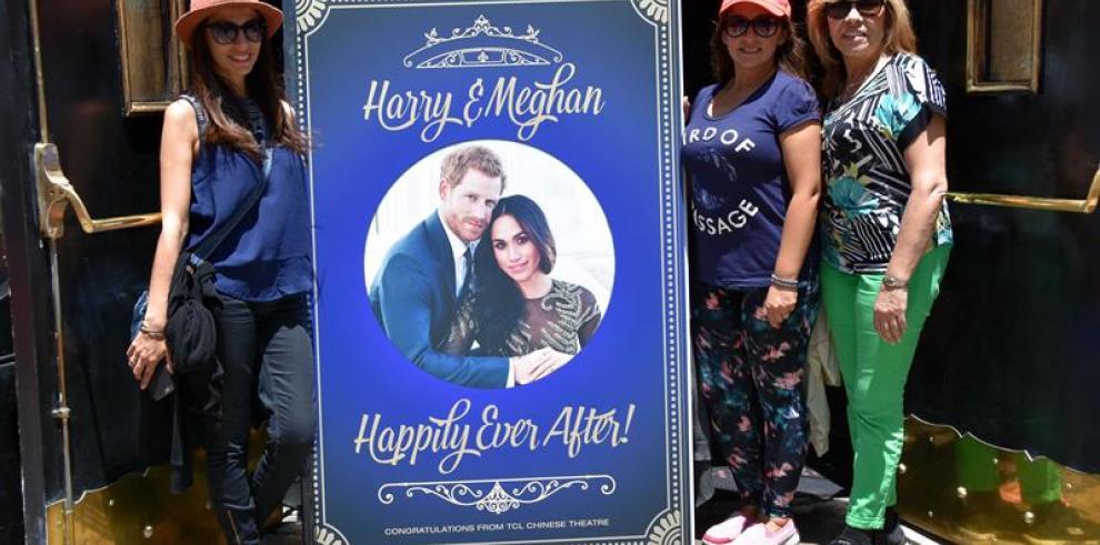 Windsor se engalana para la boda real, a la que no irá el padre de la novia