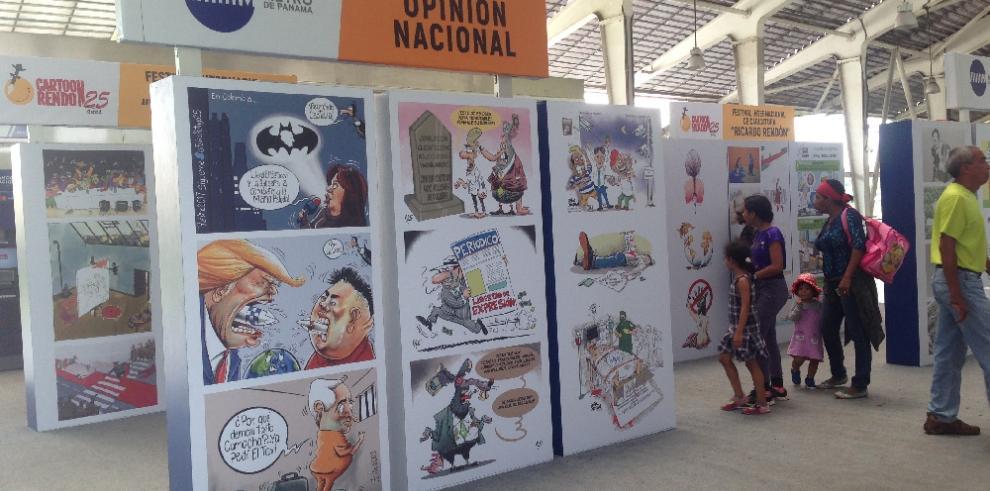 Celebran el Día del Caricaturista Panameño