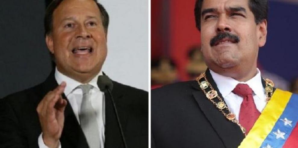 Maduro dice que espera llamada de Varela para solucionar crisis bilateral