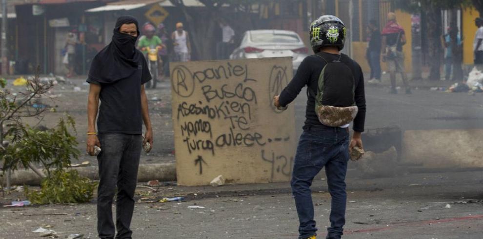 Siguen protestas en Nicaragua