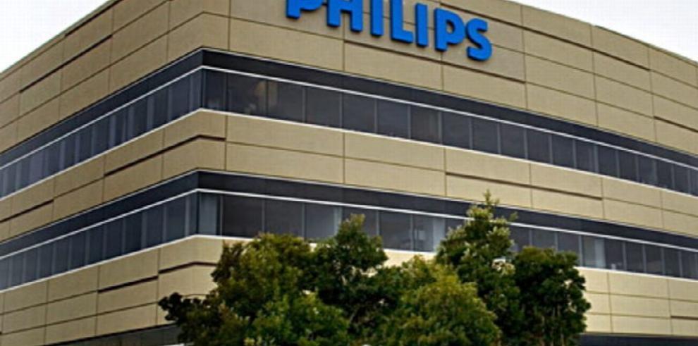 Philips redujo su beneficio en un 52.1 %