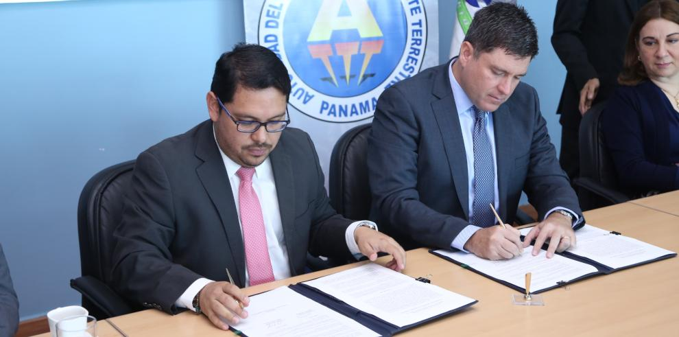 Aeropuerto de Tocumen firma convenio de cooperación con la ATTT