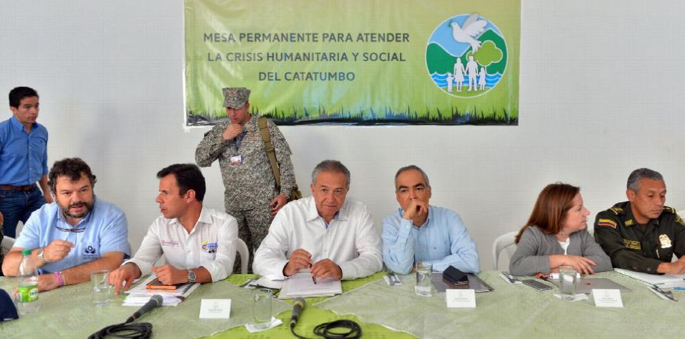 Crece cifra de desplazados en Catatumbo, Colombia