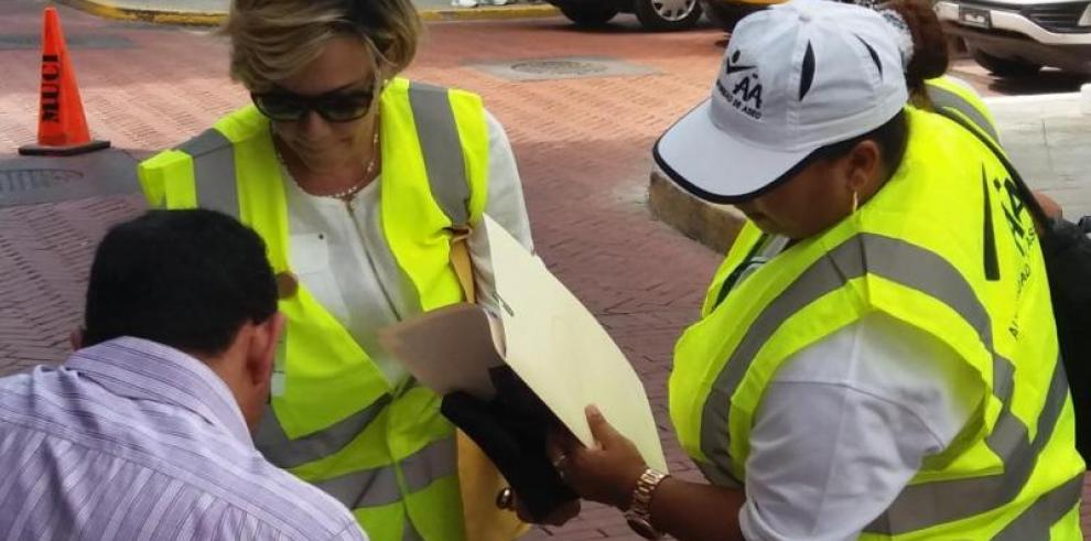 AAUD realizó operativos de inspección enCasco Antiguo