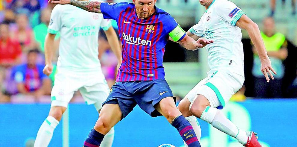 Barça sin Messi enfrenta al Inter