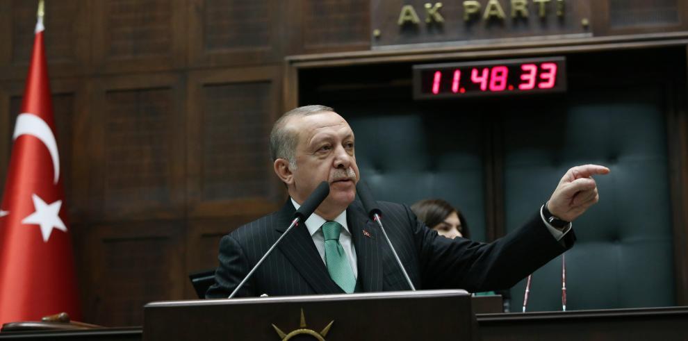 Erdogan amenaza con