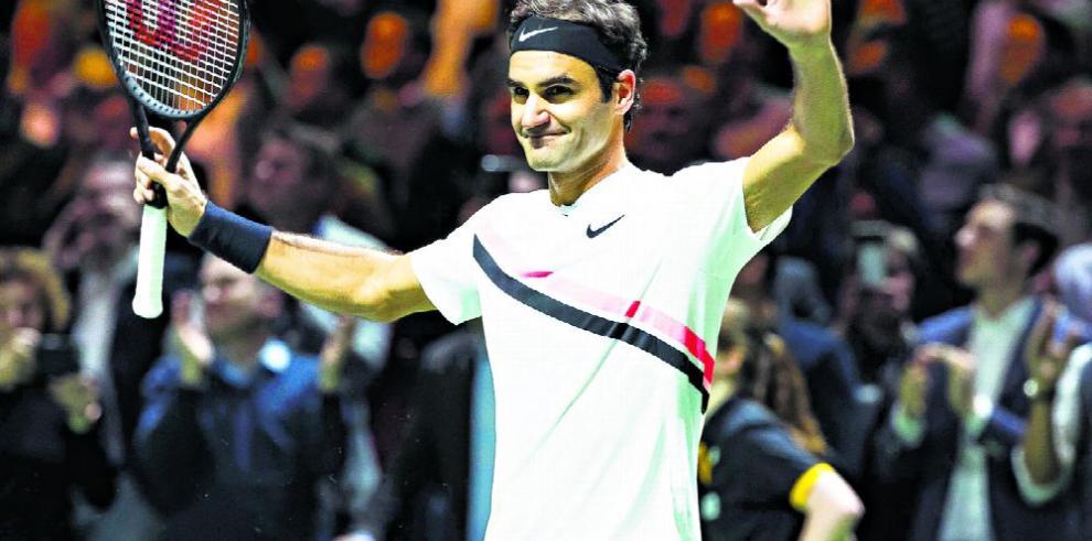 Federer sigue infalible, gana Rotterdam por tercera vez