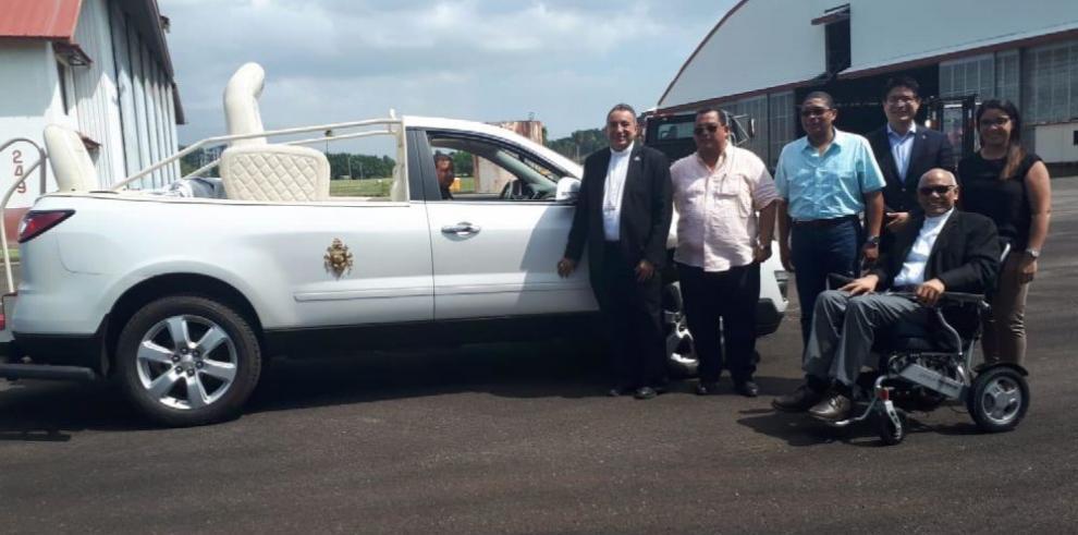 El sumo pontífice usará dos vehículos en la JMJ