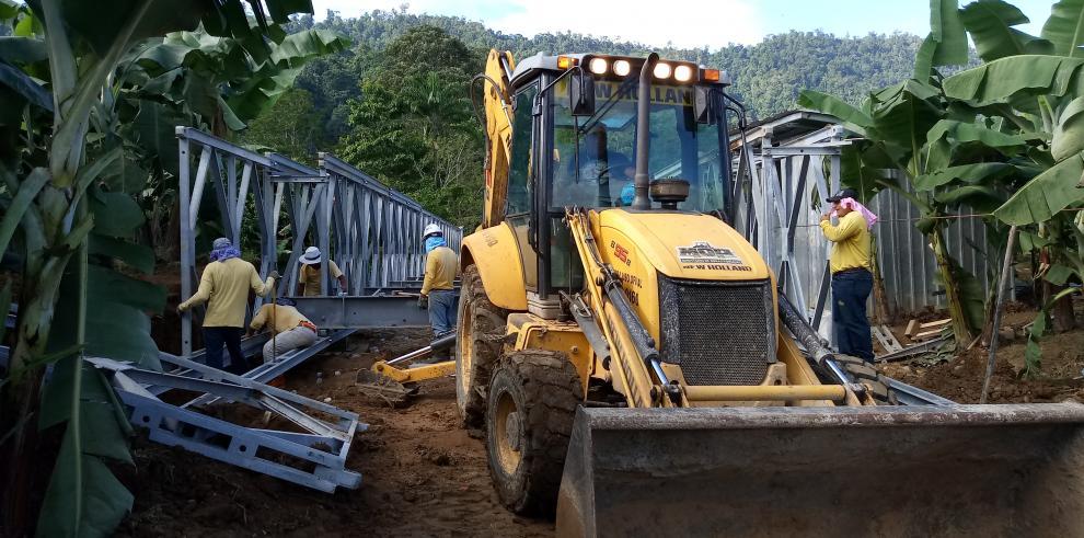 Por terminar se encuentra el nuevo puente Acrow de Bocas del Toro
