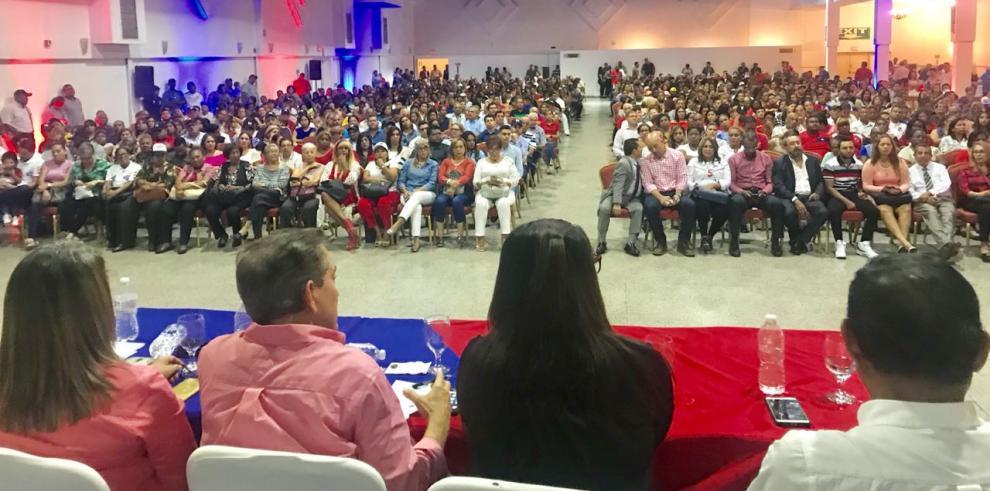 Cortizo realiza consultas en San Miguelito