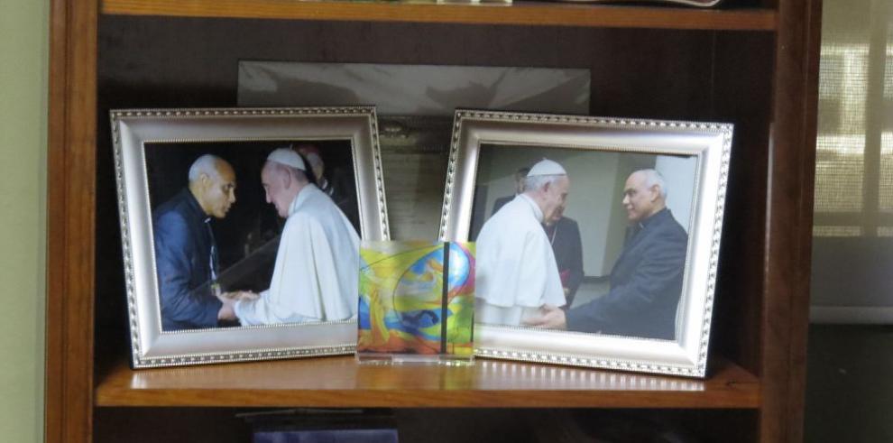 Padre Rómulo Aguilar, 35 años de servicio a Dios