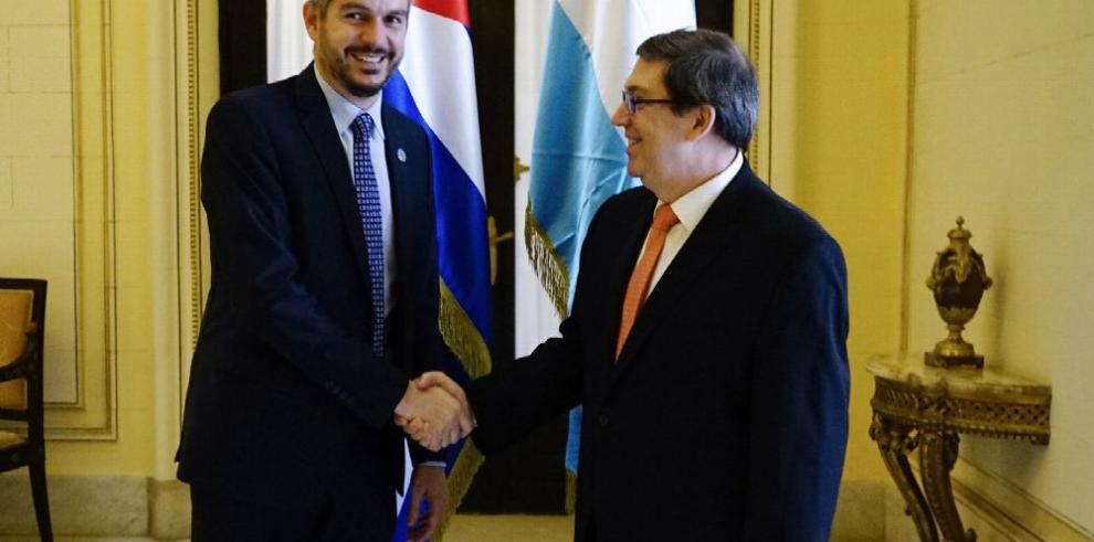 Cuba y Argentina acercan posiciones