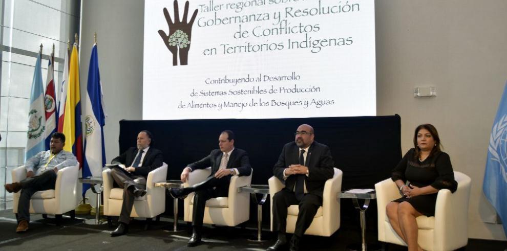 Analizan conflicto territorial indígena