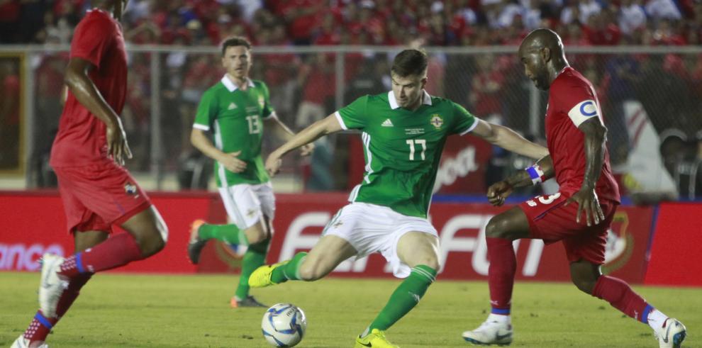 Panamá empata sin goles en amistoso con Irlanda del Norte