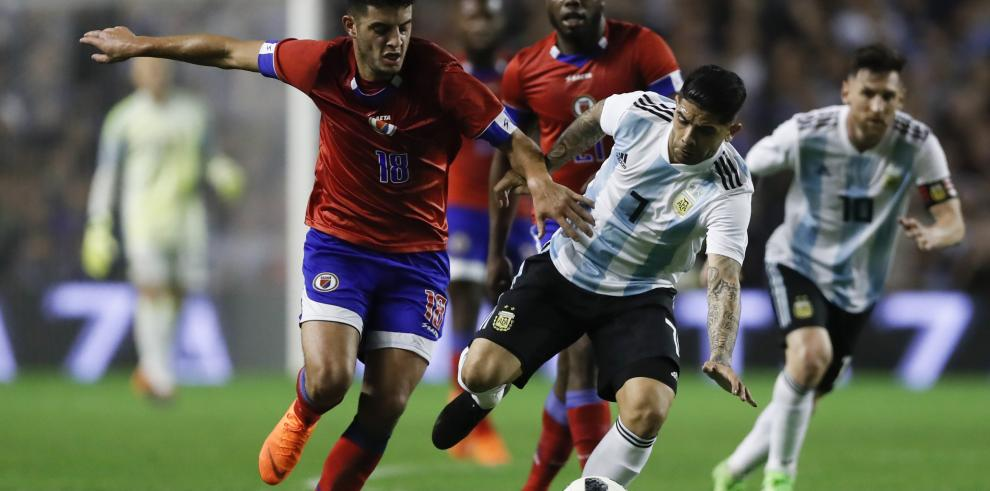 Con triplete de Messi, Argentina se despidió con una goleada ante Haití