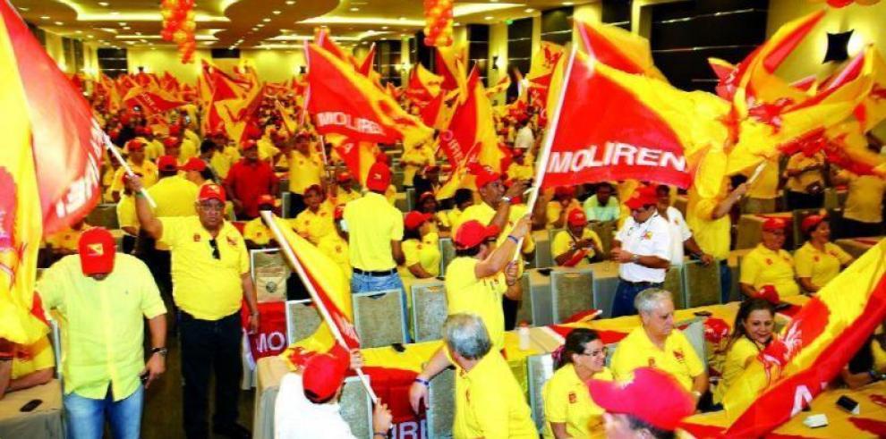 Molirena escoge este domingo a sus candidatos para las elecciones de 2019