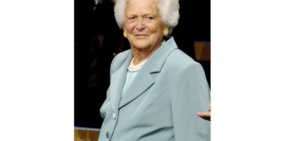 Fallece a los 92 añosex primera dama de EEUU Barbara Bush
