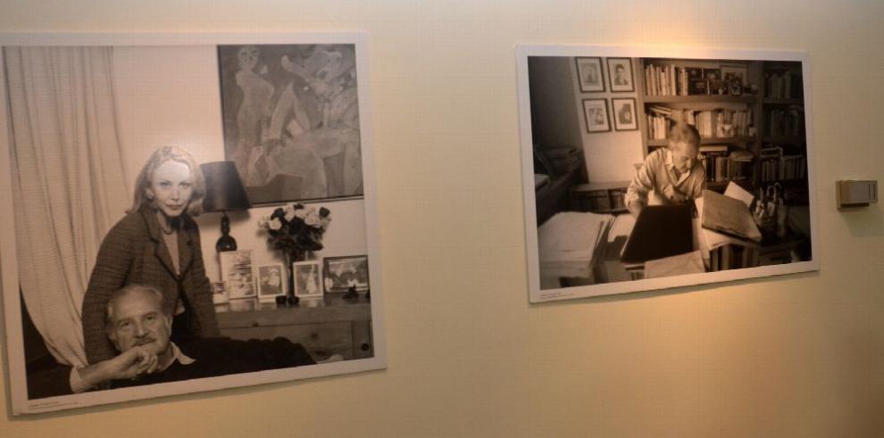 Un salón dedicado a Carlos Fuentes