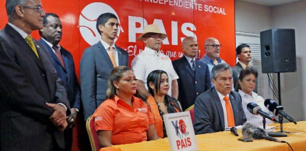 Partidos en formación continúan sumando adherentes
