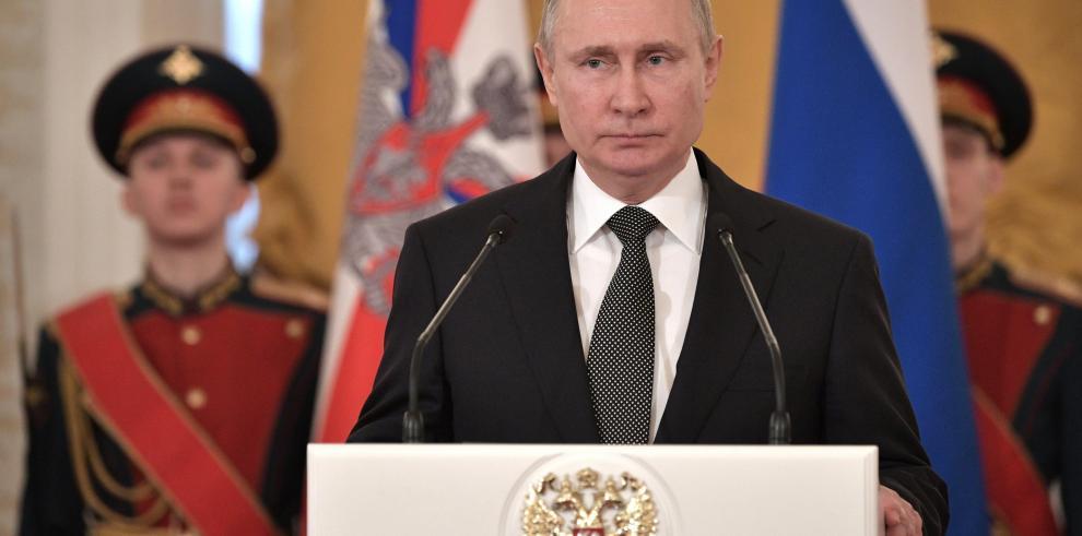 Putin advierte que Rusia no tolerará eternamente ataques terroristas en Guta