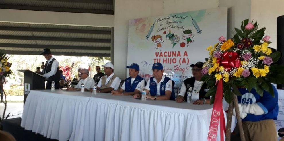 Minsa inicia la jornada de vacunas contra el sarampión