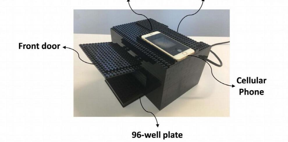 Crean un detector de armas químicas con Lego