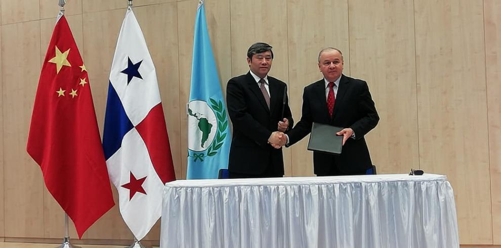 Acuerdo de cooperación entre el Parlatino yla República Popular China