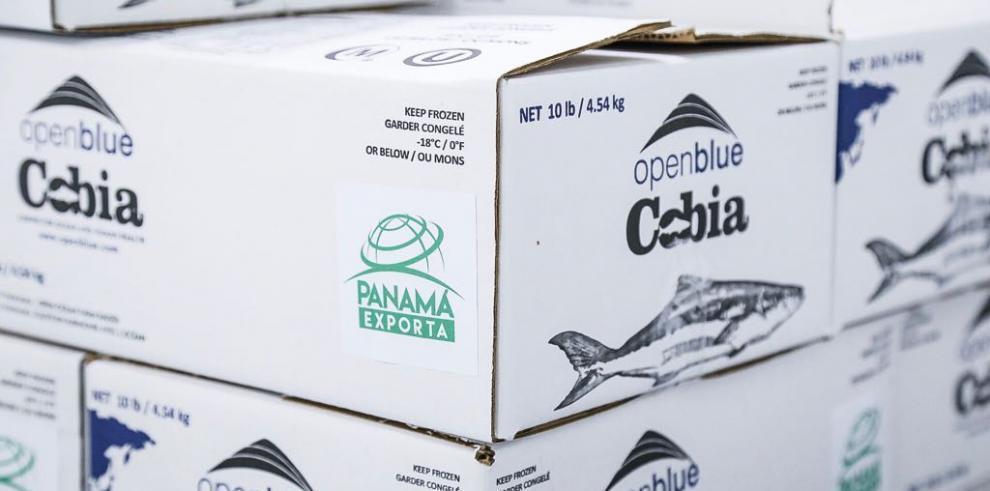 Exportan primer embarque de cobia bajo el sello 'Panamá Exporta'
