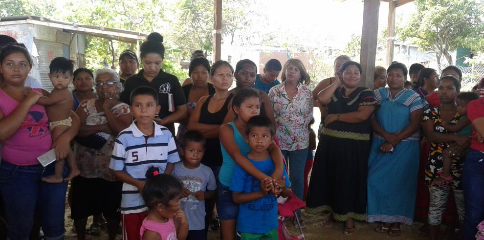 Coordinan acciones para legalizar asentamiento deNuevo Renacimiento, en Pacora