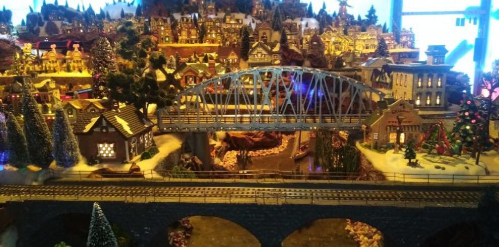 Una villa navideña de ensueño