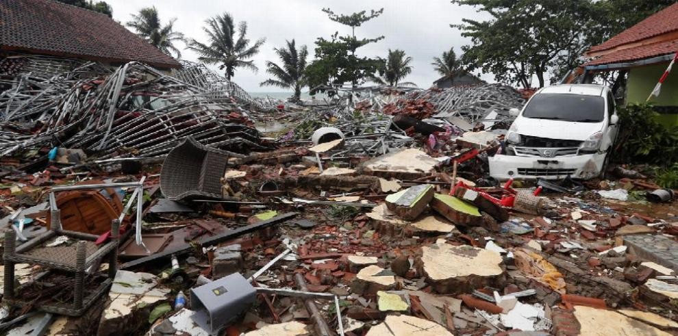 Devastación en Indonesia tras Tsunami