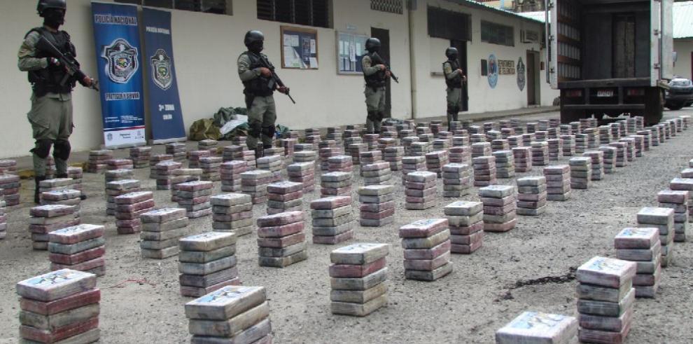 Decomiso de drogas en Panamá se incrementó 700% en 18 años