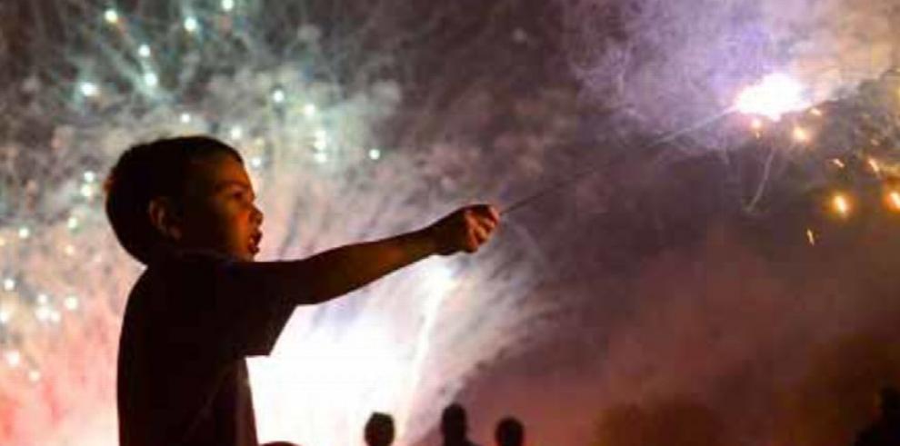 Juegos pirotécnicos, un peligro latente en fiestas de fin de año