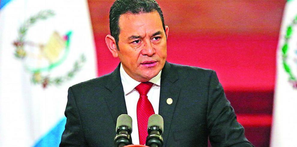 Congreso verá hoy desafuero contra Jimmy Morales