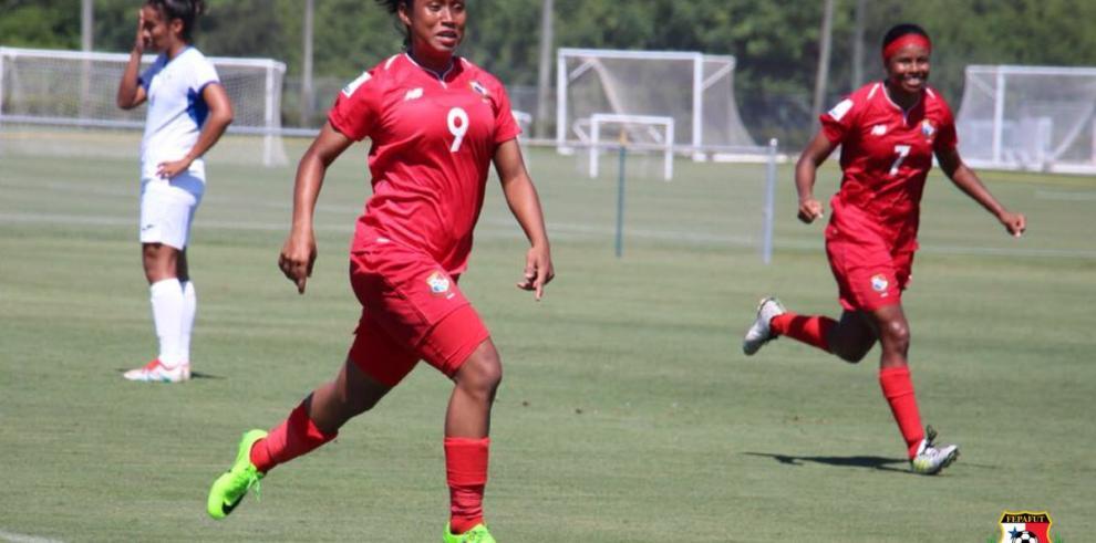 Selección femenina de Panamá derrota a Nicaragua en Clasificatorio sub 19
