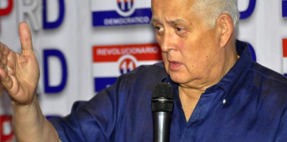 Pérez Balladares afirma que el Gobierno Nacional está lleno de 'incapaces'
