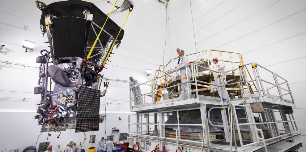 La sonda Parker de la NASA, lista para descubrir los misterios del Sol