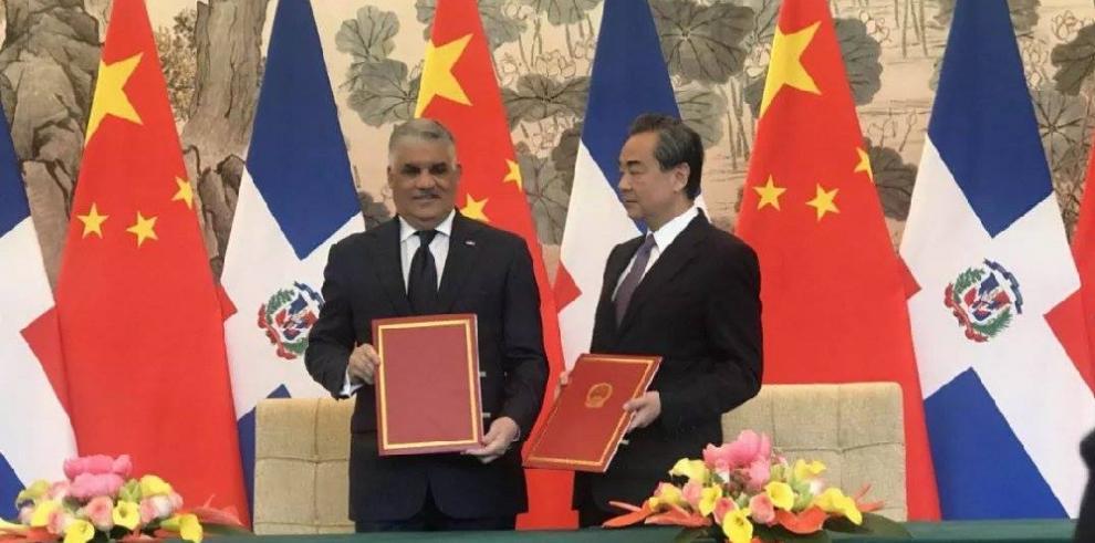 República Dominicana restablece relaciones diplomáticas con China y rompe con Taiwán