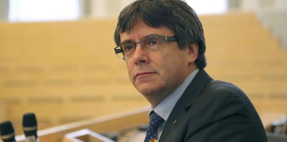 El expresidente catalán Puigdemont cumple una semana en prisión en Alemania