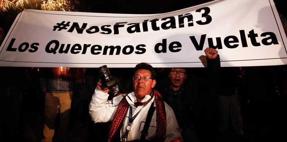 Revelan identidad del equipo periodístico ecuatoriano secuestrado en frontera