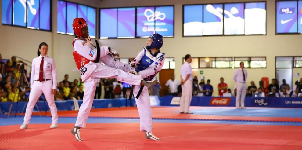 Carolena Cartens gana medalla de plata en los JCC