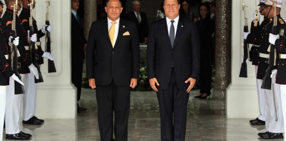 Presidentes de Costa Rica y Panamáfirmarán notas sobre puente binacional