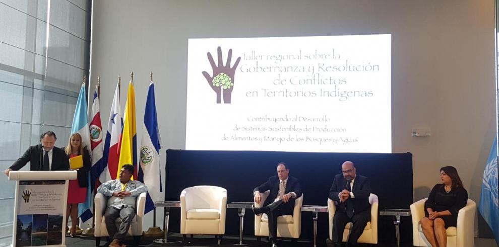 Panamá acoge taller regional para la resolución de conflictos de tierras indígenas