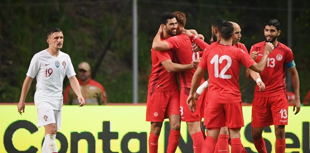 Portugal empata con Túnez en amistoso