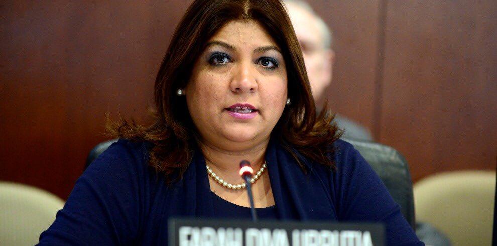 Farah Diva Urrutia, nueva secretaria de Seguridad Multidimensional de la OEA