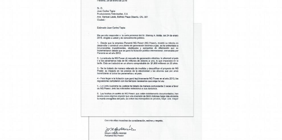 'NG Power ganó legalmente', dice Alfredo Alemán