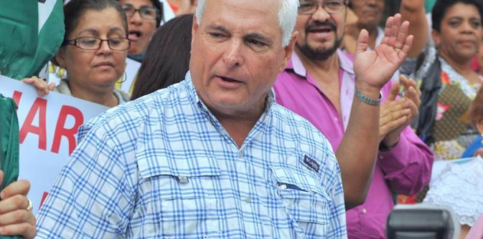 Martinelli pide apoyo a convencionales para lograr reelección en el CD