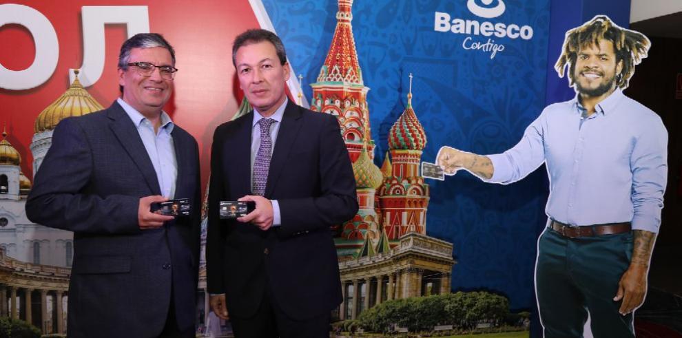 Nueva Tarjeta Banesco Mundial FIFA