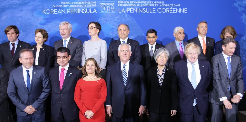 Los 20 de Vancouver reforzarán medidas de presión sobre Pyonyang